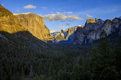 Yosemite Tunnel View Golden Hour (phonnick) Tags: canon eosr yosemite yosemitenationalpark nationalpark california tunnelview landscape vista mountains valley trees winter goldenhour sunset mirrorless hdr
