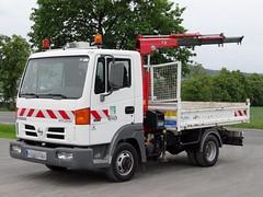 Nissan Atleon 56.13 (Michaels Fahrzeugarchiv) Tags: nissan atleon lkw truck fahrzeug kipper tipper