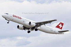 """""""Wengen"""" Swiss International Air Lines HB-IOH Airbus A321-111 cn/664 @ LSZH / ZRH 15-08-2019 (Nabil Molinari Photography) Tags: wengen swiss international air lines hbioh airbus a321111 cn664 lszh zrh 15082019"""