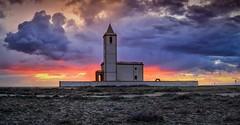 Tarde de nubes (zapicaña) Tags: nubes clouds cielo sky sunset cabodegata cabo almeria andalucia atardecer españa europa europe elcaboenfotos