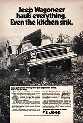 1972 Jeep Wagoneer 4WD Wagon American Motors USA Original Magazine Advertisement (Darren Marlow) Tags: 1 4 2 7 9 19 72 1972 j jeep w wagoneer wagon 4wd d c car cool collectible collectors classic a automobile m motors v vehicle u s us usa united states american america 70s