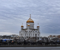 DSC_1809.1 (lyubshin2) Tags: cathedral orthodox dome moscow russia winter view christ savior heritage legacy