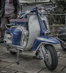 Lambretta (Ronnie marshall) Tags: photoshop photomatix oldcar carshow nikon nikkor car vehicle transportation