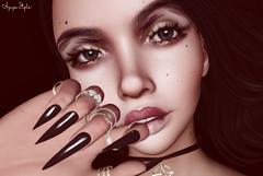 ❤ Glitter (Aziza Style) Tags: ocharmedo dubaievent lelutka maitreya aviglam glamaffair izzies alaskametro vibing witchocraft truth lyrium secondlife