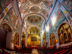 The Chapel (Just Ron ;)) Tags: light architecture baroque church seville nikon art fisheye imageron travel