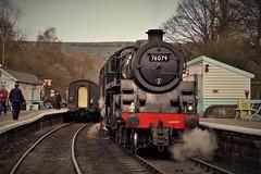 grosmont2018 (tonywinward2) Tags: steam loco locomotive locomotion nymr north yorkshire moors railway rail rasils uk united kingdom great britain train trains heritage repton class old carriages east england 2018