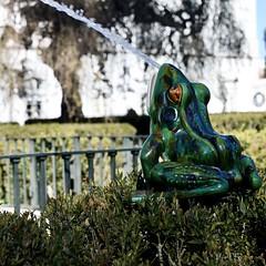 Green Toad Throwing Water (2009) - Rafael Bordalo Pinheiro (1846-1905)