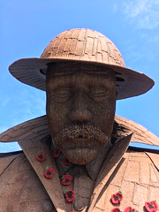 IMG_4765 (tonywinward2) Tags: tommy sculpture seaham county durham north east ne uk united kingdom great britain england wwi world war one 19141918 1914 1918 british army sea seaside