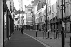 Emptiness 4. (tony allan tony allan) Tags: street urban blackandwhite monochrome lens mono blackwhite streetphotography m42 manualfocus urbanperspectives legacyglass sonya6000 carlzeissjenatessar50mmlens