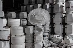 Porcelain Factory (michael_hamburg69) Tags: lostplace offthemap abandonedplace urbanexploration urbex porzellanfabrik gipsform plastermold form porzellan porcelain factory bonechina phototourmit3daybeard3tagebart