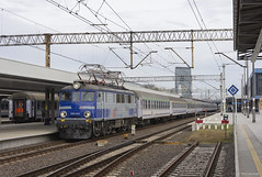 Cross Country (Rhysj17) Tags: pkp ep07 ep071019 poland poznan szczecin electric electriclocomotive
