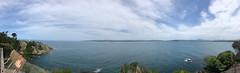 Twofold Bay, Eden (kram cam) Tags: australia roadtrip newsouthwales victoria beach photo digital iphone