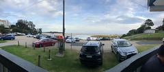 Dinner at Lakes Entrance (kram cam) Tags: australia roadtrip newsouthwales victoria beach photo digital iphone