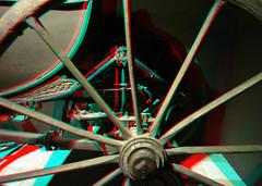 Louwman 3D (wim hoppenbrouwers) Tags: louwman 3d anaglyph stereo redcyan portugese kar wiel 1775 traquitana