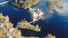 Olavinl linna (niina.kiiskinen) Tags: castle savonlinna medievil finland lake