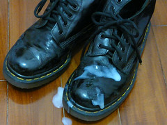 Fun in dr martens (New Rock Boots & Dr Martens) Tags: abused airware dark laced hardlyworn laces black boots broken boot blue brokenin booted combat fuckingboots cum cock scuffed docs rock stickysoles unlaced dirty drmartens distressed dust industrial mud used studded emo leather fetish wellworn heavvy heel finehaircell goth girls girl original hi shaft trashed trash worship vintage ripped punk walk platform sole soles tall moto stomp outfit wornout pants ruined originals crush steeltoe stained tops stain