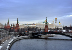 DSC_1766.1 (lyubshin2) Tags: russia moscow kremlin panorama view fortress sky winter snow beautiful river embankment heritage legacy towers wall red brick golden domes travel tourism landmark cityscape architecture old ancient stone capital