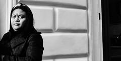 Suspicious mind. (Baz 120) Tags: candid candidstreet candidportrait city contrast street streetphoto streetcandid streetportrait strangers rome roma ricohgrii sony a7 europe women monochrome monotone mono noiretblanc bw blackandwhite urban life portrait people provoke italy italia girl grittystreetphotography faces decisivemoment