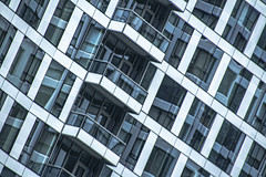 (jfre81) Tags: chicago streeterville apartment tower building architecture balcony window wall diagonal geometry line reflection abstract texture minimalism 312 windy second city urban james fremont photography jfre81 canon rebel xs eos
