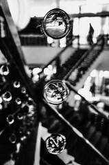 R0015377 (MINUTEART) Tags: drips blacknwhitephotography blacknwhite blackandwhite stairs stairway bw bnw blackandwhitephotography shiny drip glass germany berlin feeling