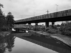 Photo of Basingstoke Canal at Junction with Wey Navigation-G1230484