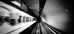 Underground (Missing Pictures) Tags: explored explore traveling travel view eu europe train speed subway station budapest hungary bw white black blackandwhite monochrome underground