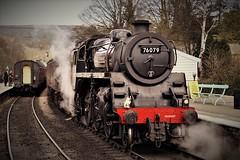 DSC09629 (tonywinward2) Tags: steam loco locomotive locomotion nymr north yorkshire moors railway rail rasils uk united kingdom great britain train trains heritage repton class old carriages east england 2018