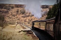 DSC09593 (tonywinward2) Tags: steam loco locomotive locomotion nymr north yorkshire moors railway rail rasils uk united kingdom great britain train trains heritage repton class old carriages east england 2018