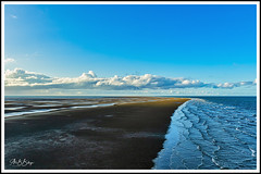 Tide is coming (alex6287) Tags: ocean tide clouds nature sand beach light sun
