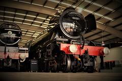 DSC00062 (2) (tonywinward2) Tags: county museum durham north railway loco east locomotive locomotion old uk flying britain united great rail kingdom icon steam rails british iconic scotsman shildon
