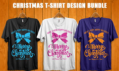 christmas t shirt design bundle (teesstudio) Tags: christmas t shirt design bundle