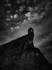 R0022546 (MINUTEART) Tags: tower cliff skies expression feeling expressive cloudy darkness light bw bnw blacknwhitephotography blacknwhite blackandwhite blackandwhitephotography ricoh ricohgr spain ancient swedishphotographer