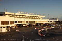 Tunis–Carthage International Airport Terminal (buchroeder.paul) Tags: airport terminal tunis tunisia airside dtta tun carthage international kartago tunesien flughafen ground boden dawn morgen