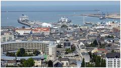 Cherbourg,terminaux ferries. (abac077) Tags: normandie normandy manche cotentin france 2019 rade citédelamer musée muséum aquarium landscape paysage ville city