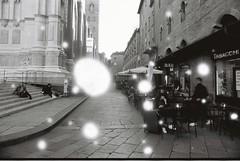Bologna (Snovlox) (goodfella2459) Tags: nikonf4 afnikkor24mmf28dlens revologsnovlox100 35mm blackandwhite film analog city streets buildings bologna italy people bwfp