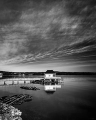 The Bath House (nunoborges73) Tags: norway norge water daylight black white