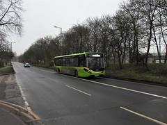 Photo of 113 YX67 UXS Nottingham 23.01.2020
