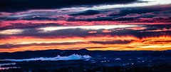 Winterly sunset (Thor Edvardsen) Tags: sunset sun sky skies scenery colors view canon canon5dsr ef70200mmf28lisiiusm oslo oslofjorden norway norge nature night