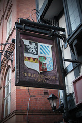 English Pub Sign - Marlborough Arms, Chester (big_jeff_leo) Tags: pubsign pub publichouse sign streetart street england painted painting