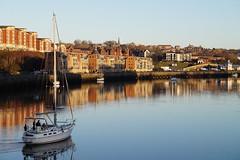 DSC03768 (tonywinward2) Tags: north east northern uk united kingdom great britain newcastle quayside city tyne river boat boats millennium bridge bridges