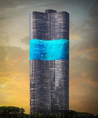 Tower Aquarium (Malcolm Hare Photography and Tuition) Tags: hss composite fantasy art city