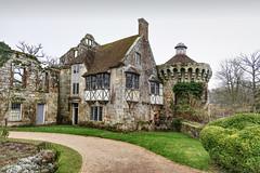 Scotney Castle, Kent, midwinter. (longfellow784@btinternet.com) Tags: scotneycastle nationaltrust kent midwinter lumixlx15 lumix