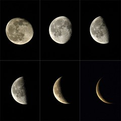 Waning Moons (Epiphany Appleseed) Tags: waning moon astro astronomy astrophotography astrophysics moonscape january 2020 lunar cratersonthemoon