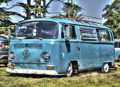 VW Camper van (Ronnie marshall) Tags: photoshop photomatix oldcar carshow nikon nikkor car vehicle transportation