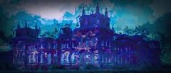 West Face of Blenheim Palace (Bobinstow2010) Tags: west face blenheim palace woodstock blue arty painting topaz photoshop