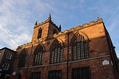 Bathed in Light - The Parish Church Of St Peter (big_jeff_leo) Tags: church chester cheshire oldbuilding old sunset light architecture england building stone