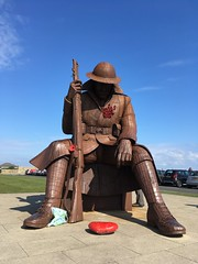 IMG_4775 (tonywinward2) Tags: tommy sculpture seaham county durham north east ne uk united kingdom great britain england wwi world war one 19141918 1914 1918 british army sea seaside
