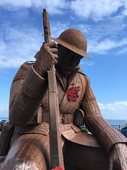 IMG_4756 (tonywinward2) Tags: tommy sculpture seaham county durham north east ne uk united kingdom great britain england wwi world war one 19141918 1914 1918 british army sea seaside
