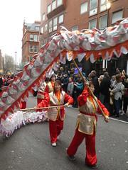 Photo of UK - London - Chinatown - Chinese New Year 2020 - Parade - Dragon