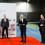 """Starptautiskās ITF pasaules tenisa tūres sacensības sievietēm """"Liepaja Open"""" Vienspēļu apbalvošana. Foto: Mārtiņš Vējš / Singles award ceremony of ITF Women"""